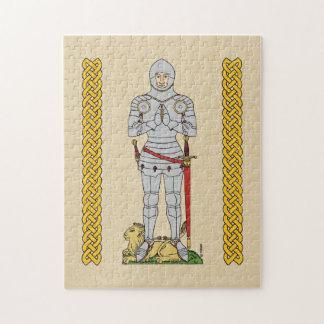 1430年頃英国の騎士、 ジグソーパズル