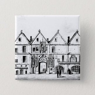 1440年にナバールの大学 5.1CM 正方形バッジ