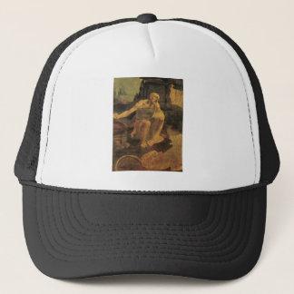1481年頃レオナルド・ダ・ヴィンチ著St Jerome キャップ