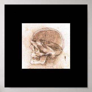 1489年頃レオナルド・ダ・ヴィンチ著スカルの眺め ポスター