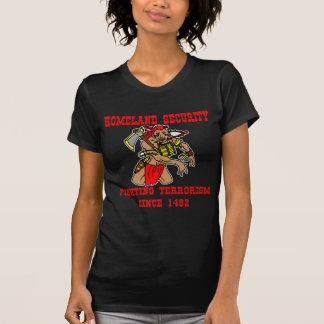 1492年以来のネイティブアメリカンの戦いのテロリズム Tシャツ