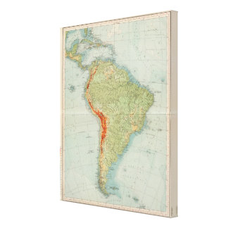 14950南アメリカの身体検査 キャンバスプリント