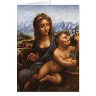 1501年頃Yarnwinderのマドンナ カード