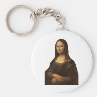 1505-1513年頃レオナルド・ダ・ヴィンチ著モナ・リザ キーホルダー