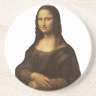 1505-1513年頃レオナルド・ダ・ヴィンチ著モナ・リザ コースター