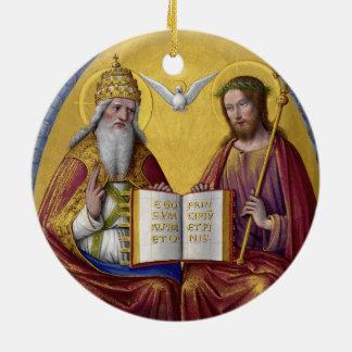1508年頃ジーンBourdichon著聖三位一体 セラミックオーナメント
