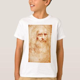 1510-1515年頃レオナルド・ダ・ヴィンチの自画像 Tシャツ