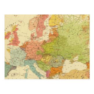1516ヨーロッパの民族誌 ポストカード