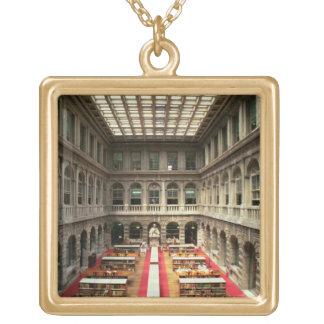1537-88年に造られるSala di Lettura (写真) ゴールドプレートネックレス