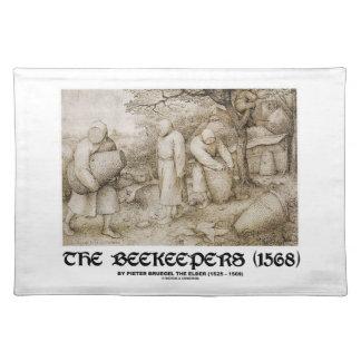 1568年の) Pieter Bruegel養蜂家(年長者 ランチョンマット
