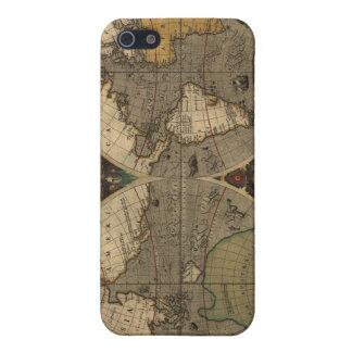 1595年の世界地図 iPhone 5 ケース