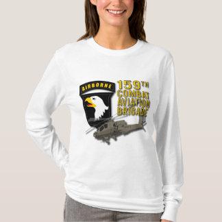 159th戦闘任務航空部隊のBdeアパッシュ Tシャツ