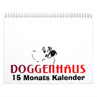 15 Monats Kalender カレンダー