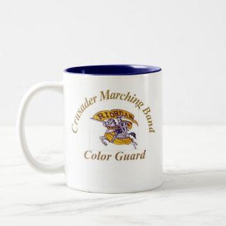 15ozクルセーダーのカラーガードのコーヒー・マグ ツートーンマグカップ