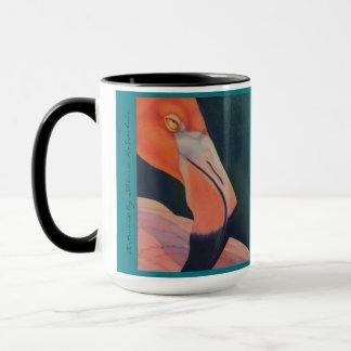 15ozフラミンゴのマグ マグカップ