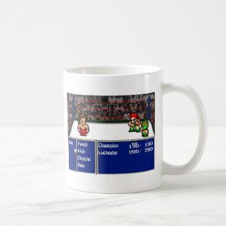 16ビットRPGのレスリング コーヒーマグカップ