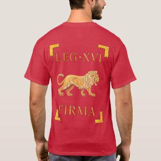 16ローマのLegio XVI Flavia Firma VexillumのTシャツ Tシャツ