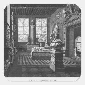 16世紀な部屋、Musee des記念碑 スクエアシール