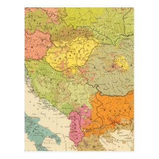 16民族誌のヨーロッパ人 ポストカード