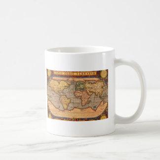 1601年からの世界地図 コーヒーマグカップ
