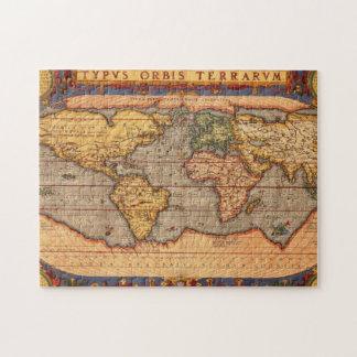 1601年からの世界地図 ジグソーパズル