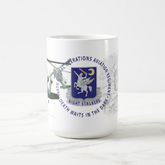 160th特別運転の航空連隊のマグ コーヒーマグカップ