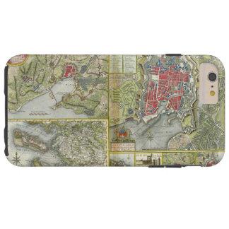 1627-28年および1773年にラロシェルの地図の包囲の都市 TOUGH iPhone 6 PLUS ケース