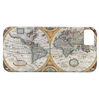 1651年のルネサンスの世界地図 iPhone SE/5/5s ケース