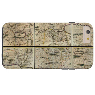 1662年のJanson Horniusの聖地のイスラエル共和国パレスチナの地図 Tough iPhone 6 Plus ケース