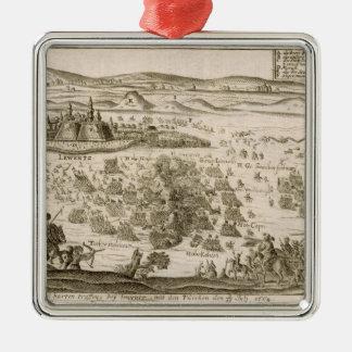1664年のillustratiにLeviceの町の近くで戦って下さい メタルオーナメント