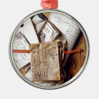 1670年頃郵便、 メタルオーナメント