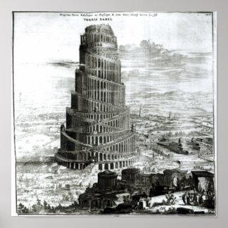 1679年バベルの塔 プリント