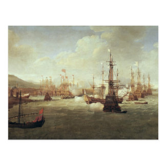 1681年後のキオスのアブラハムDuquesne、 ポストカード