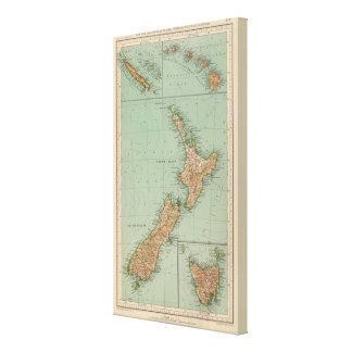169ニュージーランド、ハワイ、タスマニア キャンバスプリント