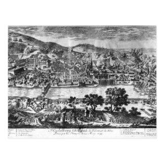 1693年5月22thのハイデルベルクの取得 ポストカード