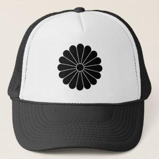 16 petaled菊 キャップ