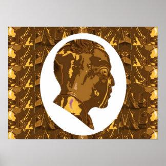 """16x12""""オバマ: 世界の政治家の空想家ノーベル ポスター"""