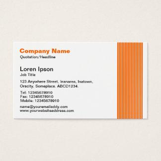 17ライン-オレンジ 名刺