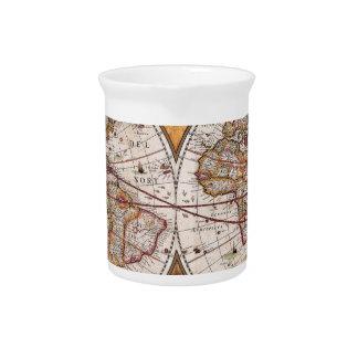 17世紀な元の世界Map1600s ピッチャー