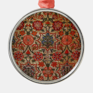 17世紀な絹のブロケードのアートワーク メタルオーナメント