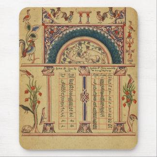 17世紀の極彩色写本 マウスパッド
