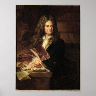 1704年後のニコラスBoileau ポスター