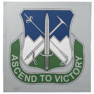172nd歩兵連隊-勝利に上昇して下さい ナプキンクロス