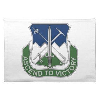 172nd歩兵連隊-勝利に上昇して下さい ランチョンマット