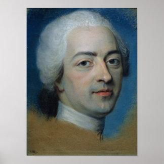 1730年後のフランスそしてナバールのルイXV王、 ポスター