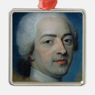 1730年後のフランスそしてナバールのルイXV王、 メタルオーナメント