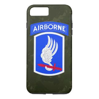 "173rd空挺旅団の連隊戦闘団""空兵士"" iPhone 8 plus/7 plusケース"