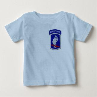 173rd ABNの空挺旅団の空の兵士パッチ ベビーTシャツ