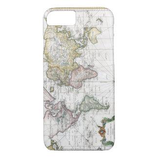 1748年の世界地図 iPhone 8/7ケース