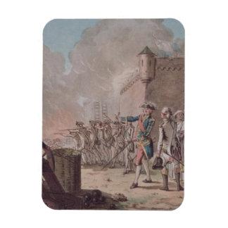 、1748年Pondicherryの包囲の持ち上がることは、刻みます マグネット